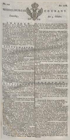 Middelburgsche Courant 1778-10-03