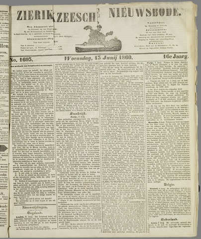 Zierikzeesche Nieuwsbode 1860-06-13