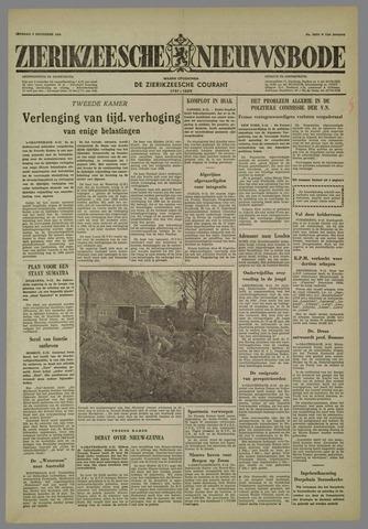 Zierikzeesche Nieuwsbode 1958-12-09