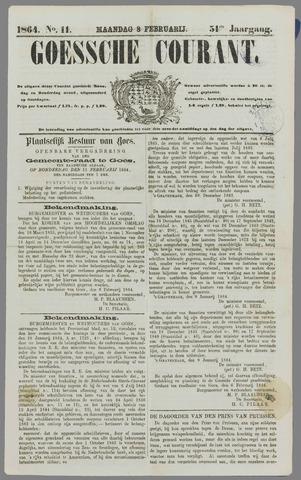 Goessche Courant 1864-02-08