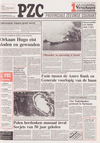 Provinciale Zeeuwse Courant 1989-09-18