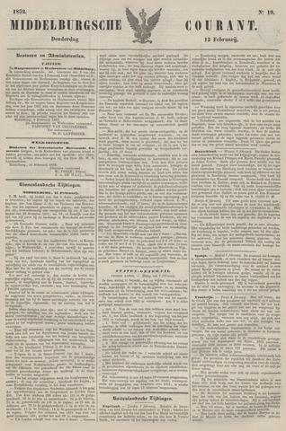 Middelburgsche Courant 1852-02-12