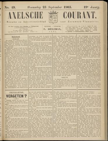 Axelsche Courant 1903-09-23