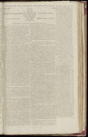 Middelburgsche Courant 1795-09-05