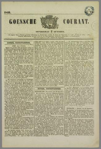 Goessche Courant 1851-10-02