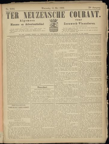 Ter Neuzensche Courant. Algemeen Nieuws- en Advertentieblad voor Zeeuwsch-Vlaanderen / Neuzensche Courant ... (idem) / (Algemeen) nieuws en advertentieblad voor Zeeuwsch-Vlaanderen 1889-05-15