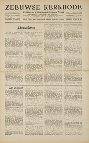 Zeeuwsche kerkbode, weekblad gewijd aan de belangen der gereformeerde kerken/ Zeeuwsch kerkblad 1955-07-08