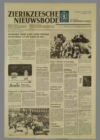 Zierikzeesche Nieuwsbode 1970-12-17