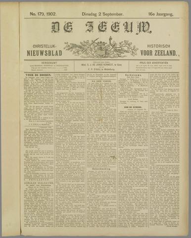 De Zeeuw. Christelijk-historisch nieuwsblad voor Zeeland 1902-09-02