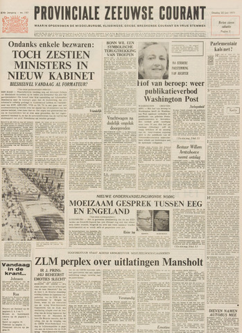 Provinciale Zeeuwse Courant 1971-06-22