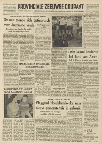 Provinciale Zeeuwse Courant 1957-05-27