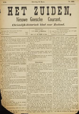 Het Zuiden, Christelijk-historisch blad 1886-03-13