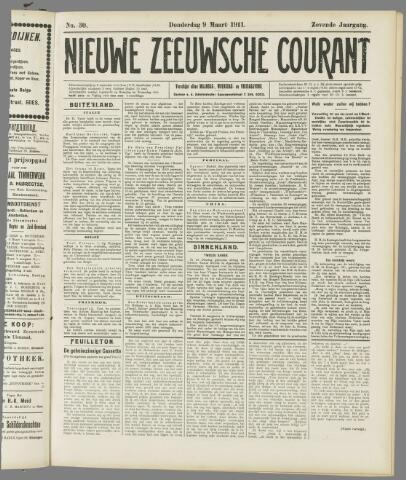 Nieuwe Zeeuwsche Courant 1911-03-09