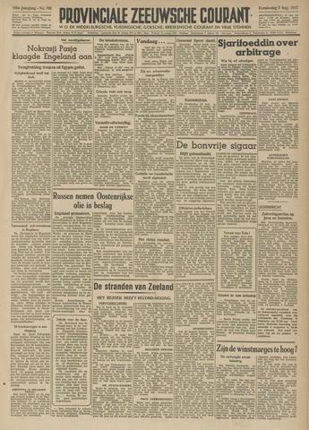 Provinciale Zeeuwse Courant 1947-08-07