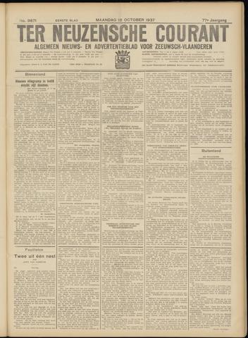 Ter Neuzensche Courant. Algemeen Nieuws- en Advertentieblad voor Zeeuwsch-Vlaanderen / Neuzensche Courant ... (idem) / (Algemeen) nieuws en advertentieblad voor Zeeuwsch-Vlaanderen 1937-10-18