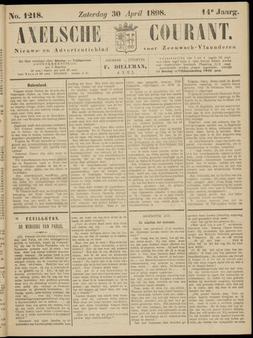 Axelsche Courant 1898-04-30