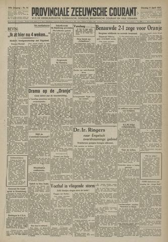 Provinciale Zeeuwse Courant 1947-04-08