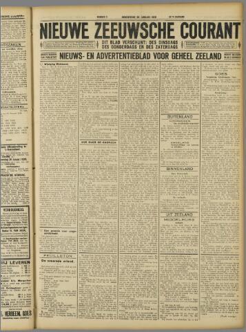 Nieuwe Zeeuwsche Courant 1928-01-26
