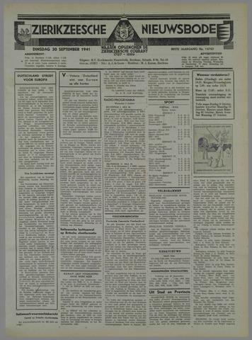 Zierikzeesche Nieuwsbode 1941-09-28