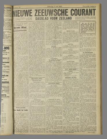 Nieuwe Zeeuwsche Courant 1920-07-03