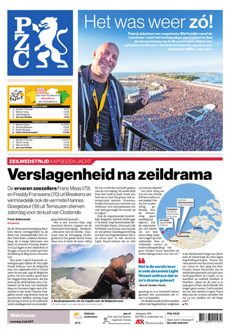 Provinciale Zeeuwse Courant 2017-07-03
