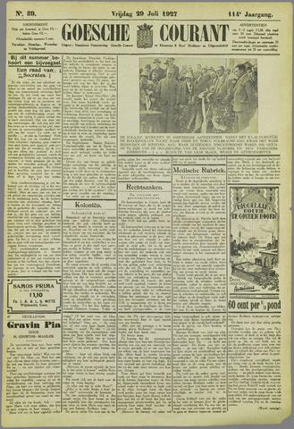 Goessche Courant 1927-07-29