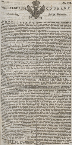 Middelburgsche Courant 1778-12-31
