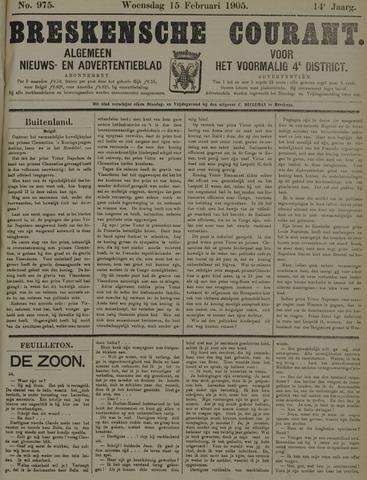 Breskensche Courant 1905-02-15
