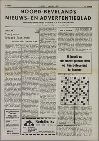 Noord-Bevelands Nieuws- en advertentieblad 1980-09-18