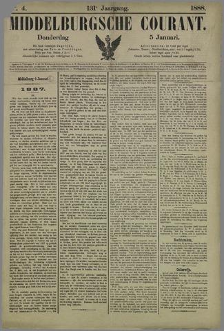 Middelburgsche Courant 1888-01-05