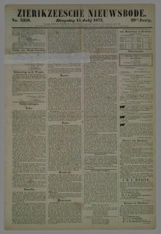 Zierikzeesche Nieuwsbode 1873-07-15