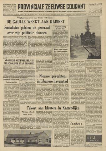 Provinciale Zeeuwse Courant 1958-05-31