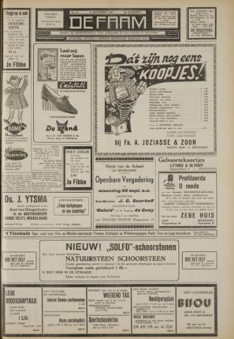 de Faam en de Faam/de Vlissinger 1960-09-23