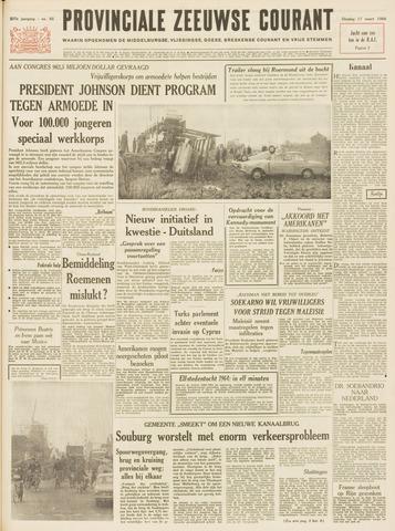 Provinciale Zeeuwse Courant 1964-03-17