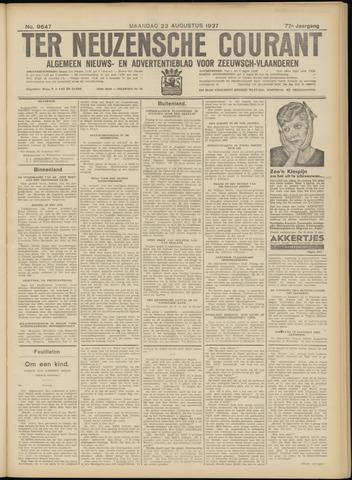 Ter Neuzensche Courant. Algemeen Nieuws- en Advertentieblad voor Zeeuwsch-Vlaanderen / Neuzensche Courant ... (idem) / (Algemeen) nieuws en advertentieblad voor Zeeuwsch-Vlaanderen 1937-08-23