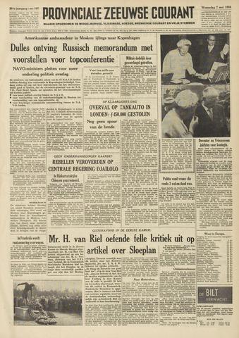 Provinciale Zeeuwse Courant 1958-05-07