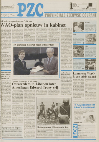 Provinciale Zeeuwse Courant 1991-08-12