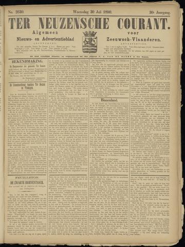 Ter Neuzensche Courant. Algemeen Nieuws- en Advertentieblad voor Zeeuwsch-Vlaanderen / Neuzensche Courant ... (idem) / (Algemeen) nieuws en advertentieblad voor Zeeuwsch-Vlaanderen 1890-07-30