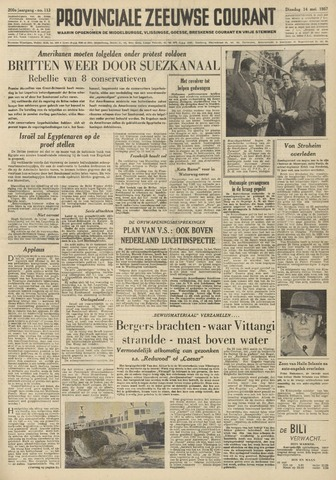 Provinciale Zeeuwse Courant 1957-05-14