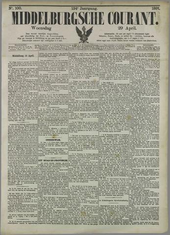 Middelburgsche Courant 1891-04-29
