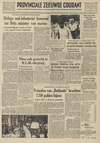 Provinciale Zeeuwse Courant 1956-09-03