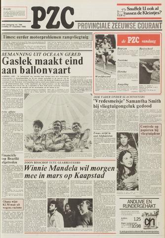 Provinciale Zeeuwse Courant 1985-08-27