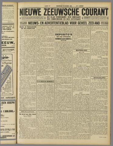 Nieuwe Zeeuwsche Courant 1929-10-10