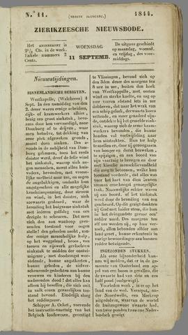 Zierikzeesche Nieuwsbode 1844-09-11
