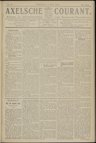 Axelsche Courant 1924-05-09