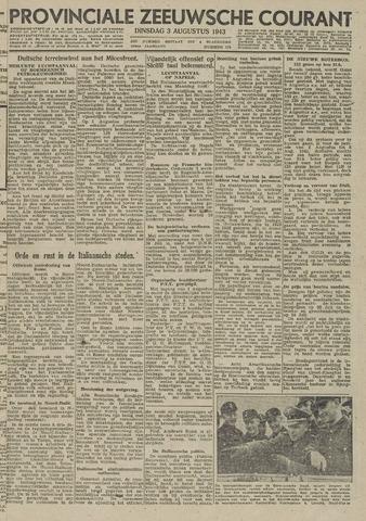 Provinciale Zeeuwse Courant 1943-08-03