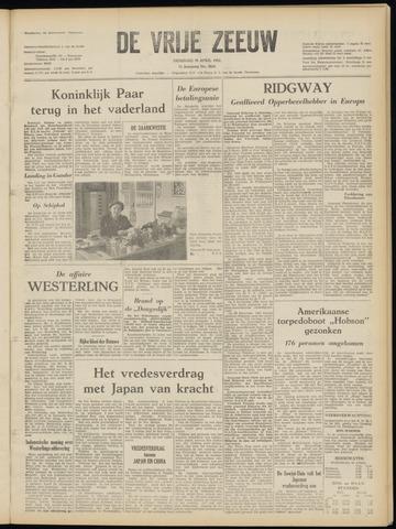 de Vrije Zeeuw 1952-04-29
