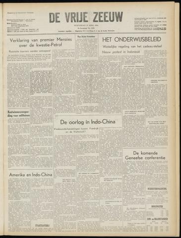 de Vrije Zeeuw 1954-04-21