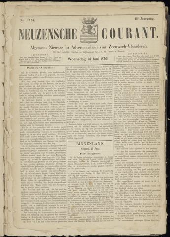 Ter Neuzensche Courant. Algemeen Nieuws- en Advertentieblad voor Zeeuwsch-Vlaanderen / Neuzensche Courant ... (idem) / (Algemeen) nieuws en advertentieblad voor Zeeuwsch-Vlaanderen 1876-06-14