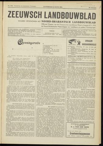 Zeeuwsch landbouwblad ... ZLM land- en tuinbouwblad 1951-06-23